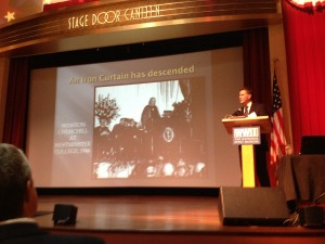 Dr. Rob Havers discusses Churchill's Iron Curtain Address