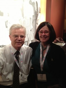 "Betsy is excited to meet former Louisiana Governor Charles ""Buddy"" Roemer"