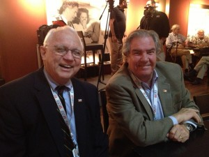 Stalwarts of the National World War II Museum Nick Mueller and Boysie Bollinger