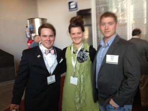 Patton Crane, Alexis Smith, and Billy Eubanks